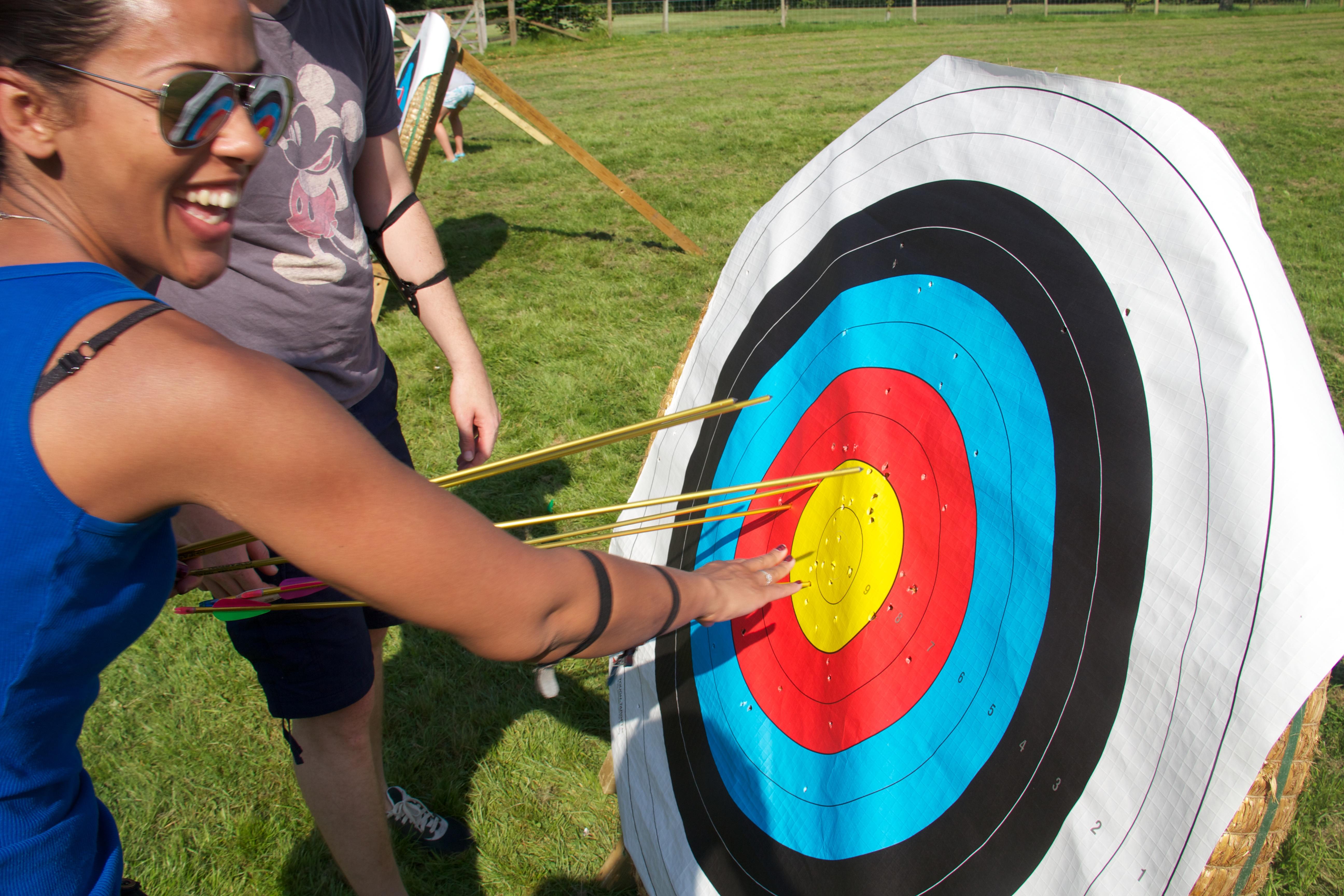 Archery at Undercastle Cottage