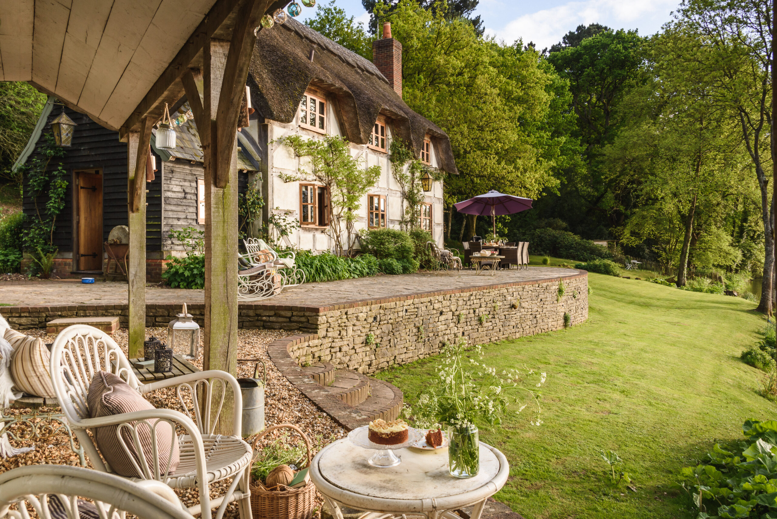 Undercastle Cottage is awarded VisitEngland's five star Gold Award 2019