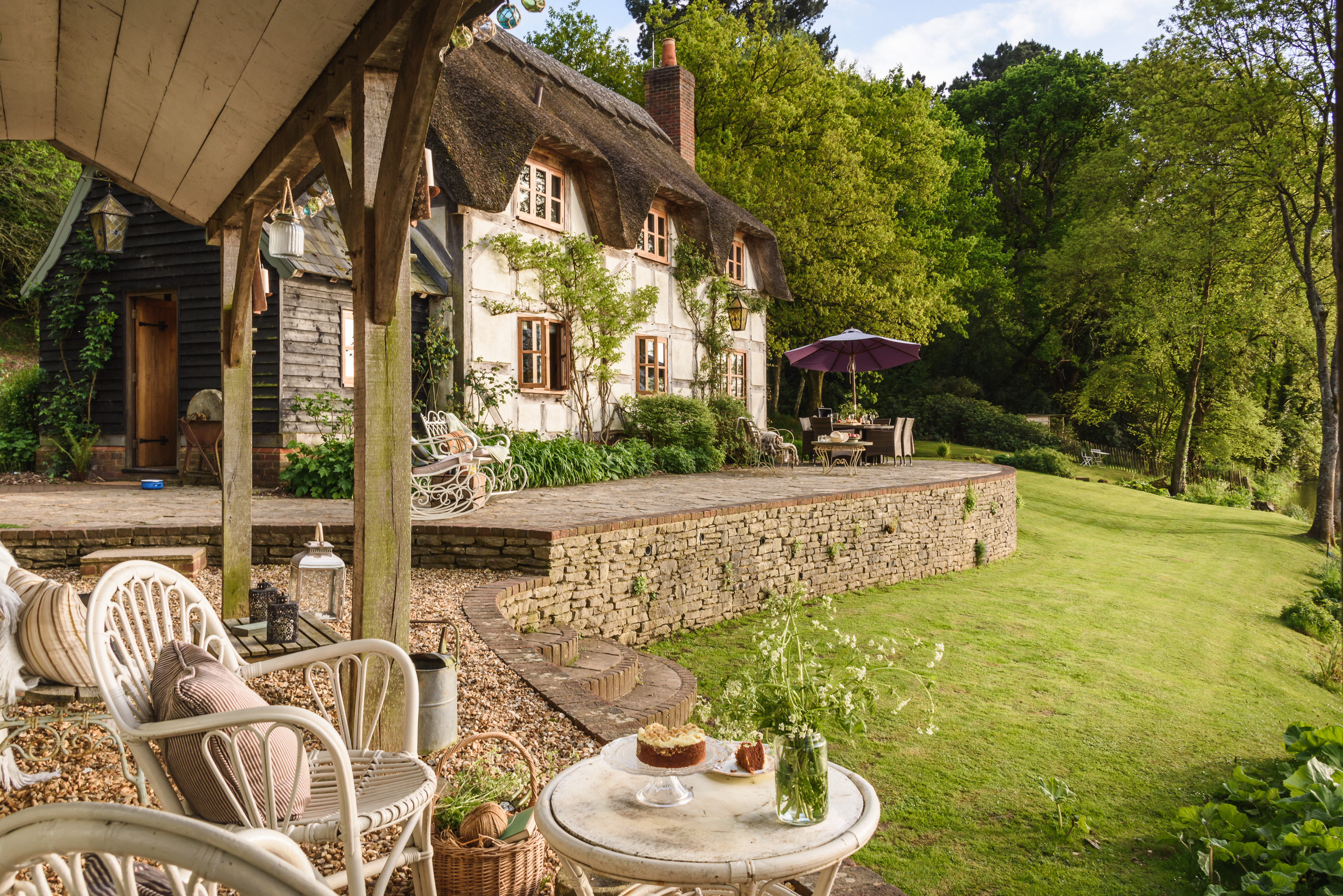 Luxurious holiday cottage New Forest