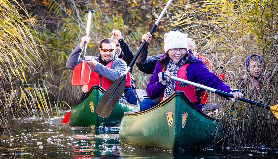 Winter paddling in the New Forest with www.newforestactivities.co.uk